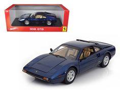 Ferrari 308 GTB Blue 1:18 Scale Collectable Big Boy Toys Diecast Car Model W1170 #HotWheels #Ferrari