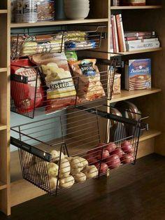 Kitchen • Pantry • Potato drawer
