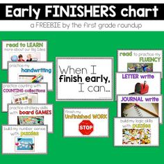 7 Ways to Challenge Early Finishers