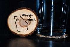 These coasters are natural and unique accessories for the home, wedding, or gift. The coasters are cut from Sourwood trees and are approximately 3-4 in