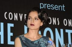 "Mumbai : Actress Kangana Ranaut has slammed the trend of paid entertainment news, saying that the focus should be on getting into news due to a film's content rather than fluff. The National Award-winning actress expressed her views on the prevalent trend at the launch of Anupama Chopra's book ""The Front Row: Conversations On Cinema"" here on Tuesday. ""I feel...  Read More"