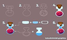 Inkscape tutorials | How to draw bottle with potion