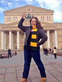 #SicEm from the Bolshoi Theatre! #BaylorEverywhere