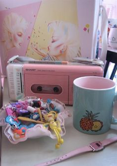 I had the same radio in that exact color. I loved that radio. I had it way until the 1990's. My precious radio played a lot of great mixed tapes. Now, I have a Pink iPod.