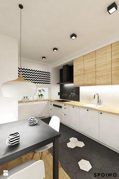 Kuchnia HEX - zdjęcie od SPOIWO studio - Kuchnia - Styl Skandynawski - SPOIWO studio