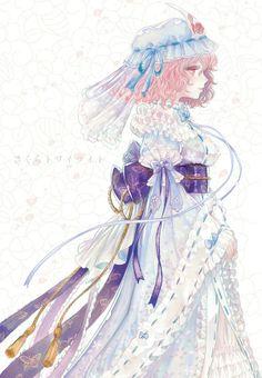 anime Yuyuko Saigyouji