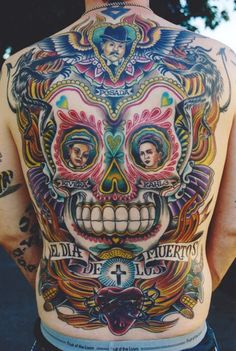 posada... don't necessarily like the tattoo itself, but the artwork is awesome!!