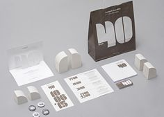 Branding, print and stationery for Fundació Miro's 40th Anniversary by graphic design studio Mucho