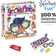 New interactive soggy doggie board game fun wet and active game new googly eyes game with crazy vision altering glasses drawing game toys gift freerunsca Gallery