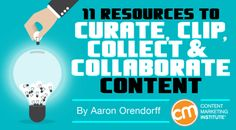 11 Resources to Curate, Clip, Collect, and Collaborate Content - @contentmktg
