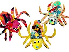 The Very Busy Spider Craft - Oh Creative Day Spider Crafts, Spider Art, Free Spider, Classroom Crafts, Preschool Crafts, Spider Template, Diy With Kids, The Very Busy Spider, Kindergarten Art Lessons