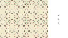 Overlap layered pattern font on Behance