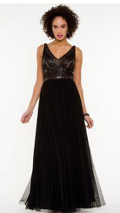 Le chateau glamorous dress. Beading and tulle