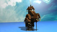minecraft fantasy house - Google Search