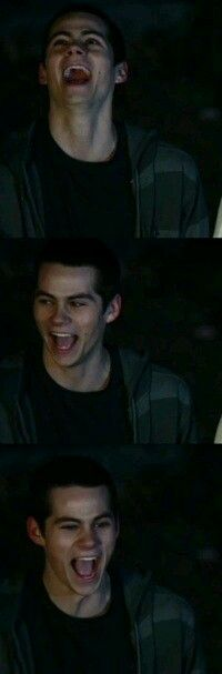 """my """"teenwolf"""" board is just dylan lmao whoops."""