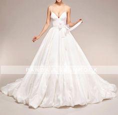 Aphrodite/wedding gown/women clothing/bridal by pandaandshamrock, $350.00