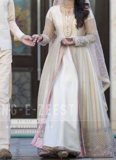 Nikkah Dress, Long Frock, Engagement Dresses, Frocks, Dress Making, Brides, Clothes, Outfits, Fashion
