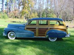 1948 Woody WagonRe-Pin brought to you by #CarInsuranceagents at #HouseofInsurance in #EugeneOregon