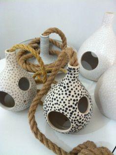 Ceramics in light tones and polkadots. Ceramics, Interior Design, Tableware, Ceramica, Nest Design, Pottery, Dinnerware, Home Interior Design, Interior Designing