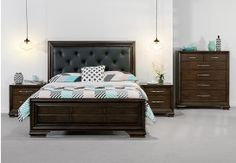 Add a touch of classic elegance and luxury to your bedroom décor with the Nantes 4 Piece Queen Bedroom Suite.The Nantes 4 Piece Queen Bedroom Suite is an innovative blend of traditional styling and detail to achieve a timeless look that will mak Dark Wood Furniture, Bedroom Furniture, Bedroom Decor, Queen Bedroom Suite, Bedroom Sets, French Style Sofa, Rustic Theme, Classic Elegance, Luxury