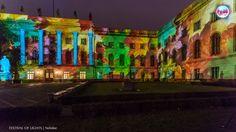 https://flic.kr/p/N3CKNG | HUMBOLDT-UNIVERSITÄT ZU BERLIN @ FESTIVAL OF LIGHTS 2016 | HUMBOLDT-UNIVERSITY BERLIN during the Festival of Lights 2016. #festivaloflights #fol #berlin #lights #illuminations #BMUB #zander&partner #hu #uni #mobilität