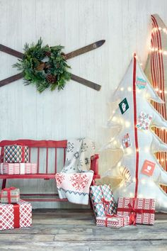 35 classic country ideas for outdoor christmas decorations - Christmas Decoration Crafts