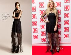 Ellie Goulding In ALICE by Temperley – The Q Awards 2013