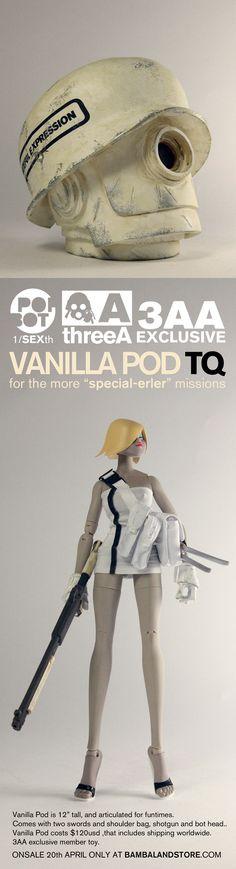 Vanilla POD TQ + bot head