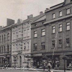 Blatenska ulice - Platnerstraße 1940 Multi Story Building, Street View