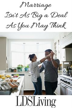 Marriage Isn't As Big a Deal As You May Think | Article at LDSLiving.com