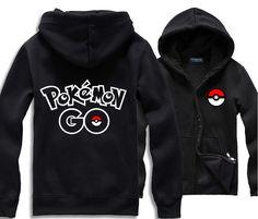 New Game Pokemon go Hoodie Pocket Monster PokeBall Cosplay Costume Spring /Autumn Hooded Coat #Affiliate