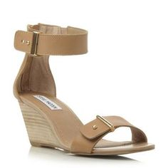 STEVE MADDEN NARISSAA SM - Two Part Wedge Sandal - off white | Dune Shoes Online