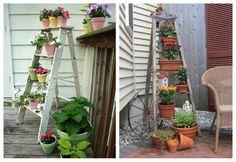 40 ideas de reciclaje y manualidades para el jardín