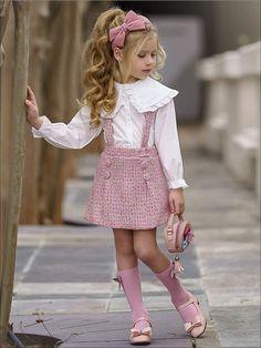 Little Girl Skirts, Cute Little Girls Outfits, Dresses Kids Girl, Kids Outfits Girls, Little Girl Fashion, Toddler Girl Outfits, Toddler Girl Style, Little Girl Clothing, Toddler Girls Fashion