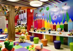 Espaço Kids, de Giovanni Baptista Borge para a Casa Cor Goiás (Foto: Edgar César). Confira outros ambientes da mostra no WebCasas: http://www.webcasas.com.br/revista/materia/decoracao/222/casa-cor-goias-homenageia-cantores/