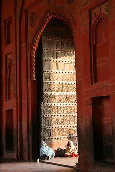 Fatehpur Sikri Gate - India