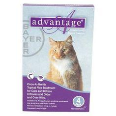 Advantage Flea Control Purple: For cats over 9 lbs. 4 Month --- http://www.pinterest.com.itshot.me/3t