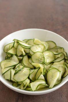 Cucumber Salad for Your Scandinavian Midsummer Menu - Outside Oslo