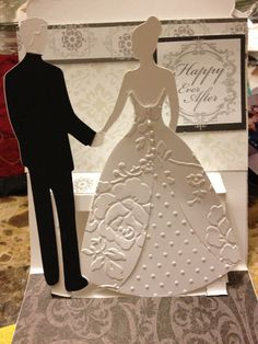 Wedding Card For Nephew Cricut And Stampin Up