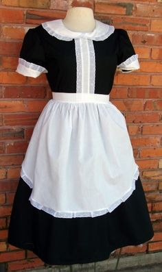Cecille/Annette? Broadway Costumes, Cool Costumes, Costume Ideas, 1930s Costumes, Maid Costumes, Aladdin Costume, Cinderella Costume, Maid Outfit, Maid Dress