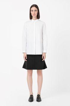 COS | Shirt with bonded hem