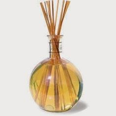 You will need: Glass container with narrow opening Reed diffuser sticks 1/4 cup carrier oil 20-25 drops of essential oils Carrie...