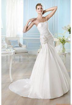 Herz-Ausschnitt Elegante Brautkleider