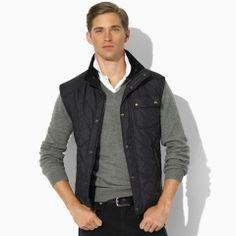 Ralph Lauren (POLO line) Richmond Quilted Vest  Price: $225.00|Sale: $89.99