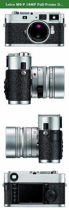 Leica M9-P 18MP Full-Frame Digital Rangefinder Camera (Silver Chrome). Leica M rangefinder professional camera body. Silver Chrome, discreet markings, and rugged Sapphire back screen.