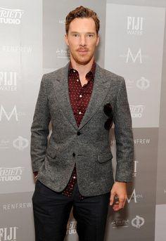 ALERT ALERT, GINGER BEARD. | 31 Reasons We're Addicted To Benedict Cumberbatch
