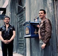 Rainer Werner Fassbinder and Dirk Bogarde