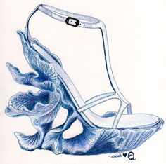 Mcqueen Sketch of Coral Wedge