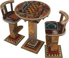 Sticks Game Table