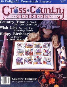 Gallery.ru / Фото #1 - Cross Country Stitching 1992-06 Jun - tr30935